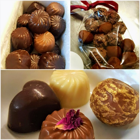 How do our choccies compare against their's?