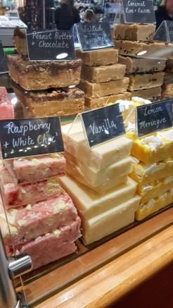 Pushing the boat out with artisan fudge