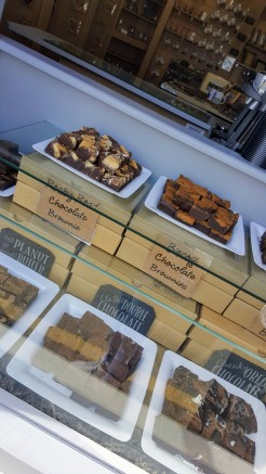 Freshly made brownies in all sorts of delicious flavours!