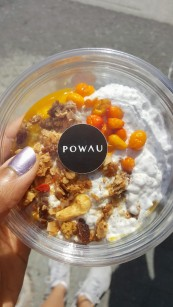 Powau was our favourite café to visit - this chia pudding bowl was delicious!